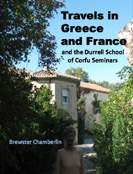 book cover for Travels in Greece and France